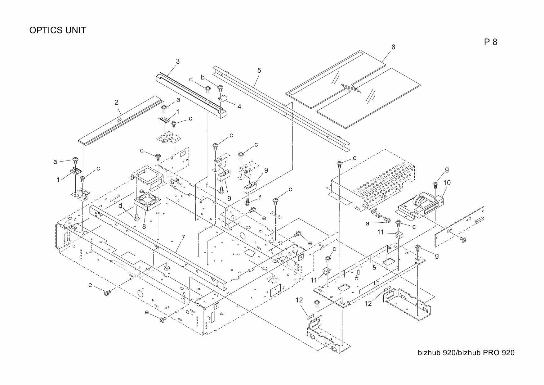 Konica-Minolta bizhub-PRO 920 Parts Manual-4